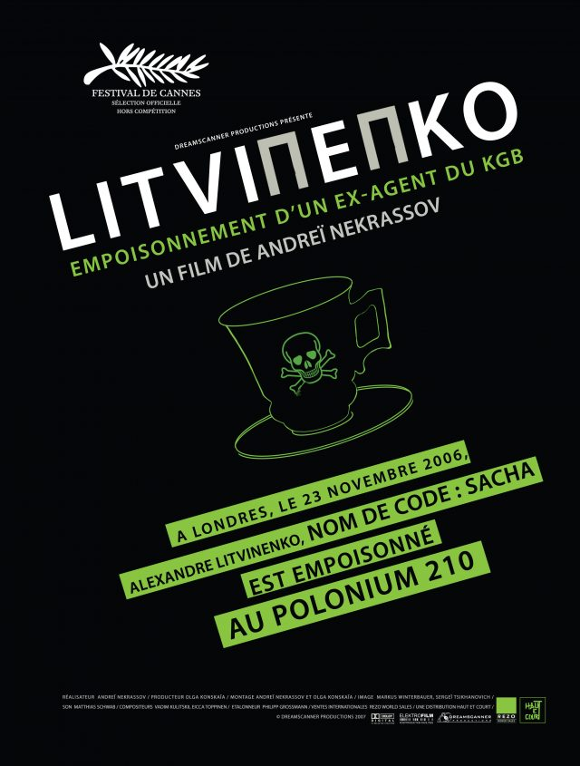 Litvinenko, empoisonnement d'un ex agent du KGB